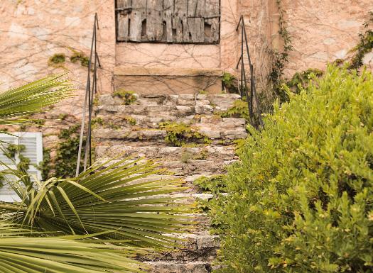 Mallorquinisches Ambiente auf der Yoga Finca Mallorca