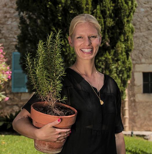 Nachhaltigkeit spielt in der Yoga Finca Son Mola Vell eine große Rolle
