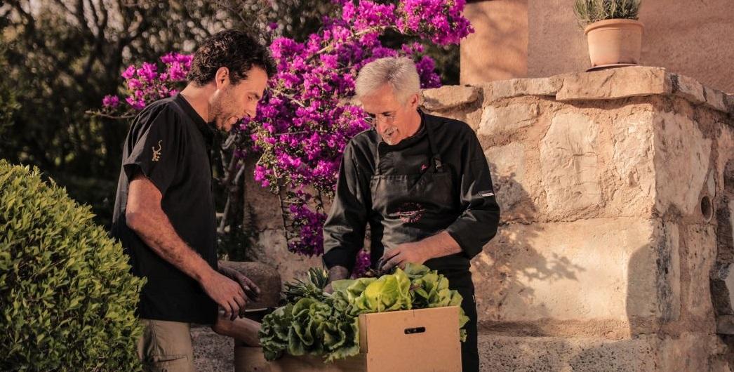 Im Herbst gibt es auf Mallorca einen gratis Kochkurs in der Finca Son Mola Vell für Sie